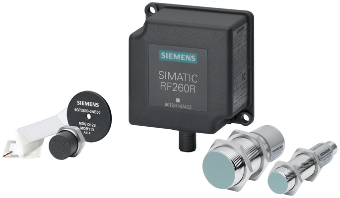 The new, compact readers SIMATIC RF200 IO-Link are used with the comprehensive Siemens portfolio of ISO15693 transponders.
