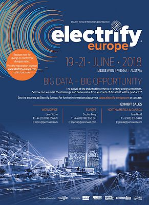 Electrify Europe, 19-21 June 2018