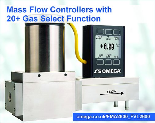 Mass Flow Controller FMA-2600A Series