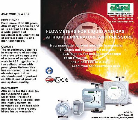 Flowmeters for liquid and gas