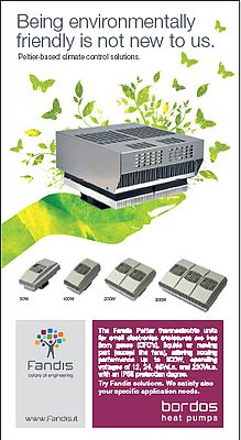 Peltier-based climate control solutions.
