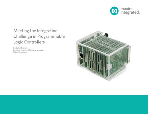 Highly Integrated Micro PLC Enables Factory of the Future
