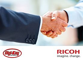 Ricoh Electronic Devices and Digi-Key to Partner