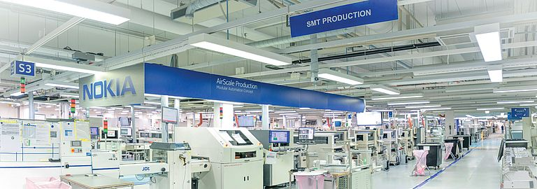 Nokia Oulu Factory Scores Automation Boost