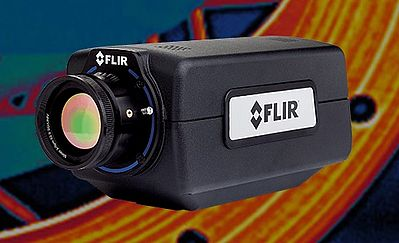 High-Speed High Sensitivity Thermal Camera