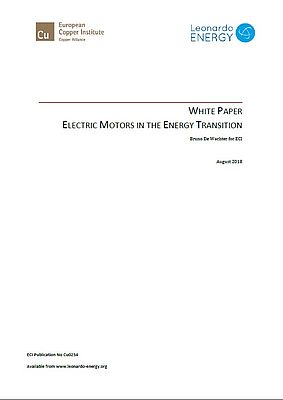Electric Motors in the Energy Transition