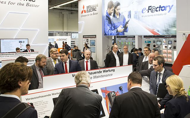 Mitsubishi Electric Journey to Industry 4.0 at SPS IPC Drives