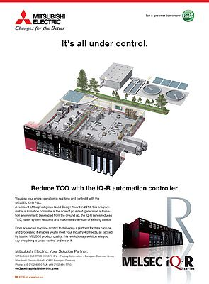 Automation Controller Melsec iQ-R Series