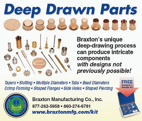 Deep drawn parts