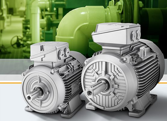 Low-voltage IE4 motors in cast-iron and aluminum housing