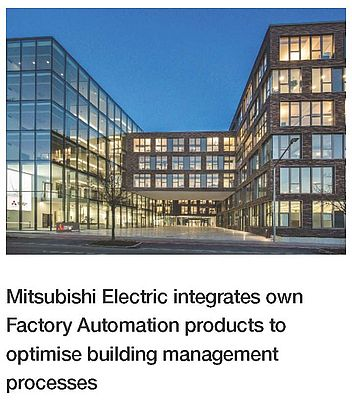 Mitsubishi Electric Optimises Building Management