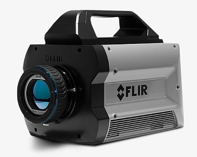 Ultra-Fast High Resolution Thermal Imaging