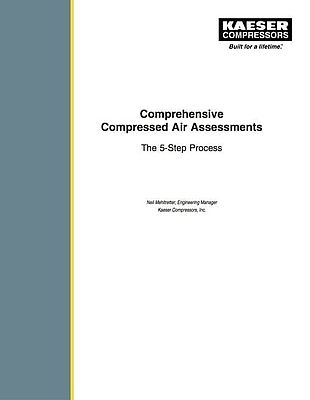 Comprehensive Compressed Air Assessments