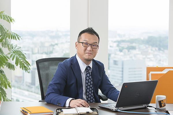 Managing Director Masashi Ono leads the new B&R subsidiary in Japan.