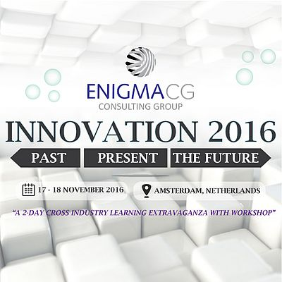 Innovation 2016: A Platform for Cross-industry Individuals Keen to Know More on Past, Present and Future Innovation