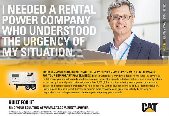 Cat Rental Power