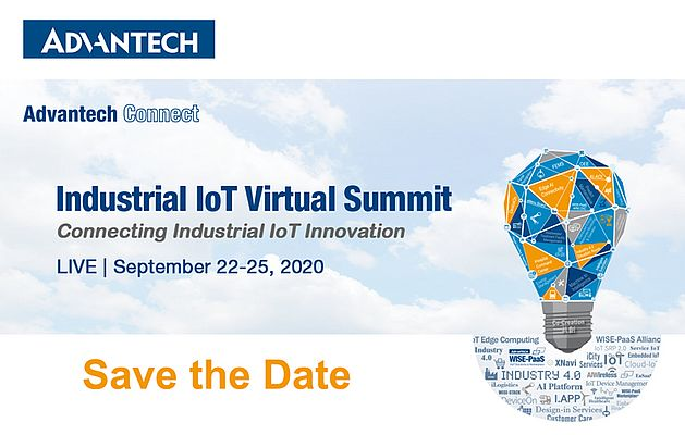 Advantech to Unveil the Latest in AI and IIoT at its Global IIoT Virtual Summit