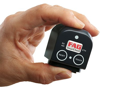 FAG SmartCheck makes condition monitoring simple and reliable