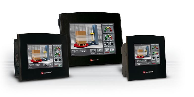 PLC with HMI and Onboard I/Os