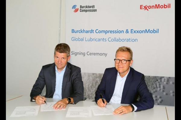 Burckhardt and ExxonMobil Signed Global Lubrications Collaboration Agreement
