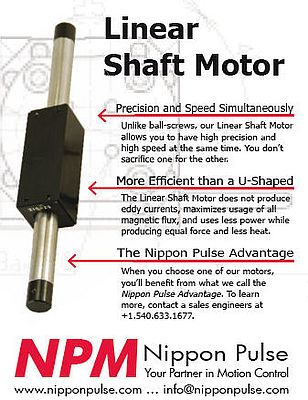 Linear shaft motor