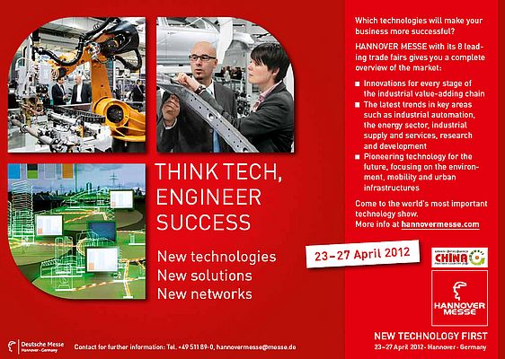 Hannover Messe, 23 - 27 april
