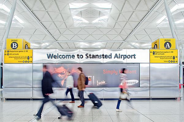 High Speed, Low Voltage Inspection at London Stansted