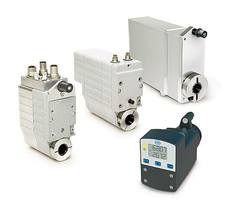 The actuator family from the DriveLine product range