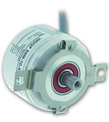Small Multi-turn Encoder with Bus Cover