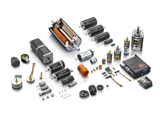 The multi multi-faceted world of maxon motors at a glance