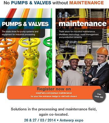 Pumps & Valves/Maintenance show