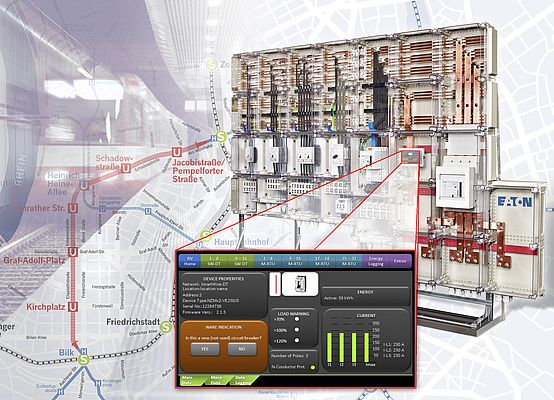 Intelligent Energy Distribution for Düsseldorf Subway Line