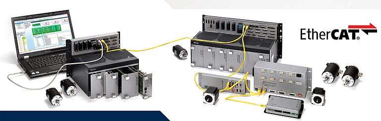 EtherCAT machine control