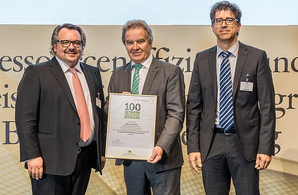 """100 Companies for Resource Efficiency"" Awarded Mosca GmbH"