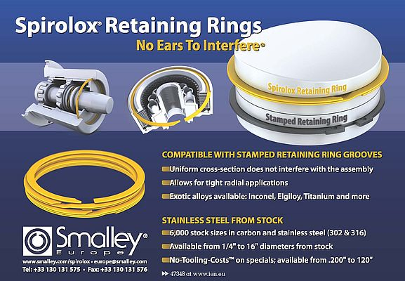 Spirolox® Retaining Stainless Steel Rings