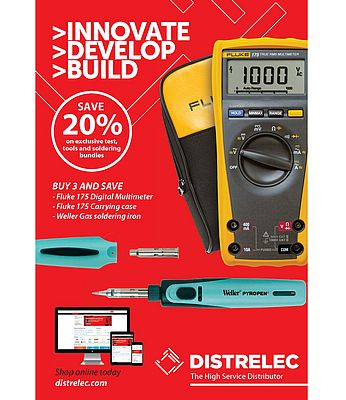 Digital multimeter, Carrying case and Gas Soldering Iron