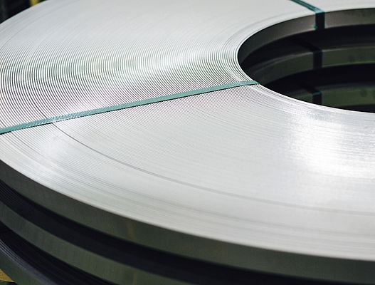 The slit strip is the product that is converted into the required width from mother coils using slitters