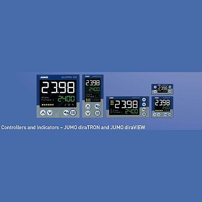 New Series of Controllers and Indicators in various DIN-Formats