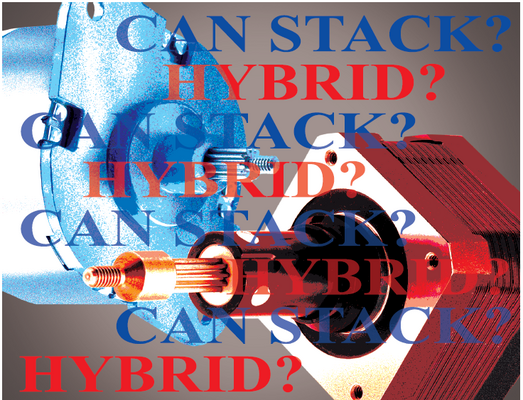 Comparing efficiency and capabilities between hybrid and can stack stepper motor acuators