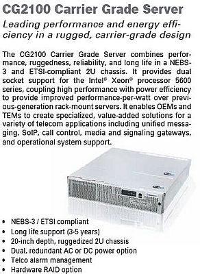 CG2100 Carrier Grade Server
