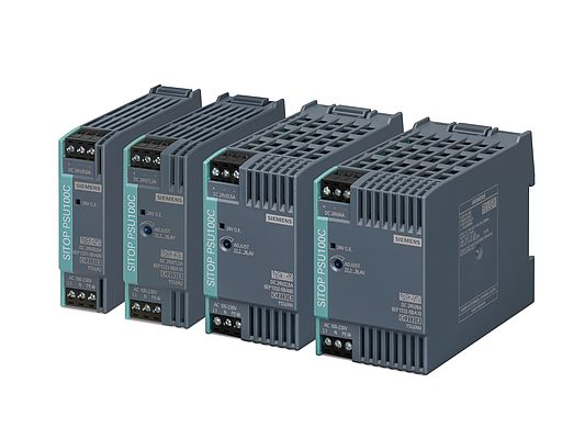 The power supplies of the series SITOP compact are especially suitable for the field of decentralized applications in control boxes or small control cabinets found in industry, infrastructure and building services.