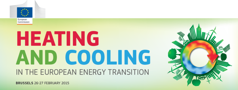 Conference: Heating and cooling in the European energy transition