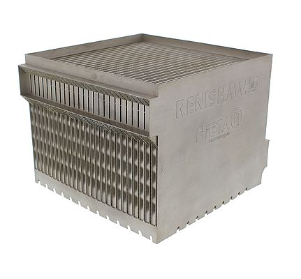 AM cuboid heat exchanger