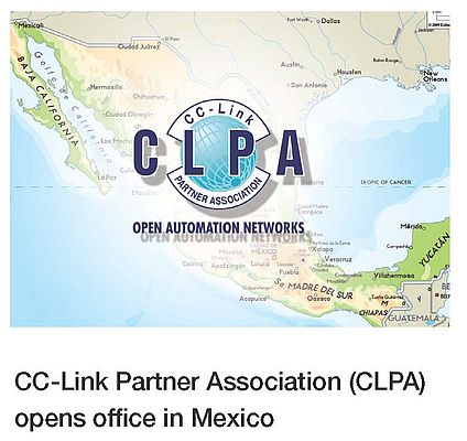 CC-Link Partner Association: New Mexican office
