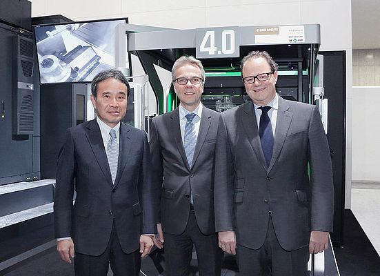 Signed a Cooperation Agreement Between Schaeffler and DMG MORI