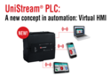 UniStream PLC: Robust PLC Hardware with Virtual HMI
