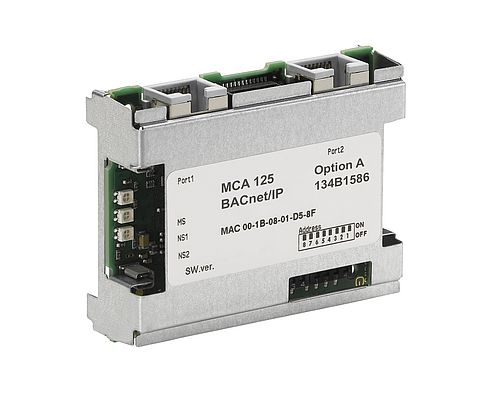 The VLT® HVAC Drive now gets the MCA 125 option, an efficient connection to BACnet/IP