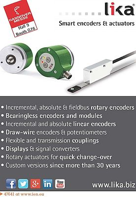Smart Encoders and Actuators