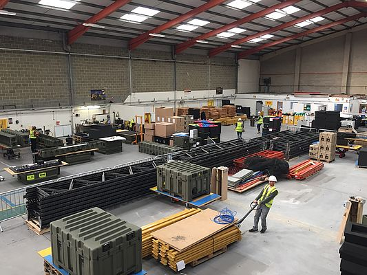 Peli Products Doubles Space at UK, Kent Facility