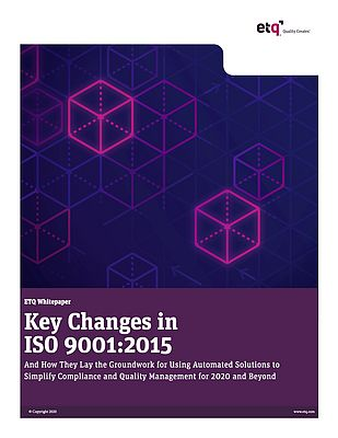 Key Changes in ISO 9001:2015